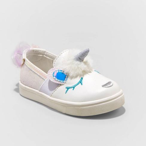 Toddler Girls' Angel Sneakers - Cat & Jack™ White - image 1 of 3