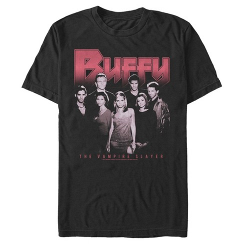 Men's Buffy the Vampire Slayer Favorite Character Collage T-Shirt - image 1 of 3