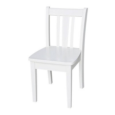 Set of 2 San Remo Juvenile Chairs White - International Concepts