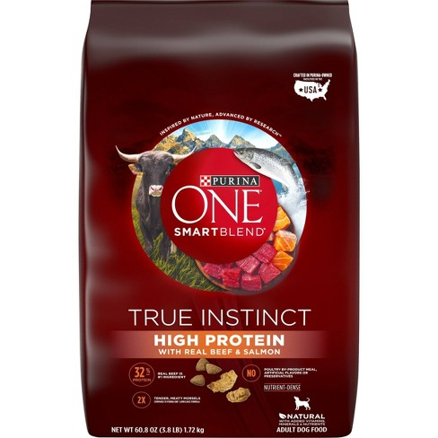 Purina ONE High Protein Dry Dog Food - Beef - image 1 of 4