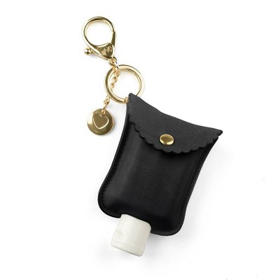 Itzy Ritzy Cute'N Clean Hand Sanitizer Charm - Black