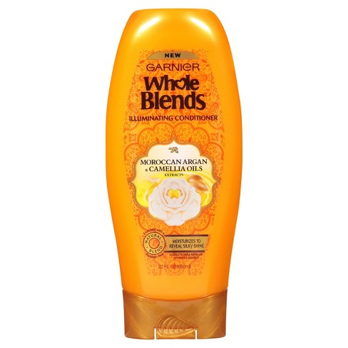 Garnier Whole Blends Moroccan Argan & Camellia Oils Extracts Illuminating Conditioner - 22 fl oz - image 1 of 4