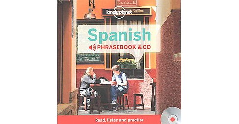 Lonely Planet Spanish Phrasebook (Bilingual) (Paperback) - image 1 of 1