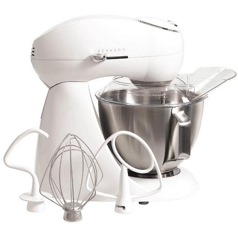 New Hamilton Beach 63321 All Metal 4.5 Qt 400W 12-Speed Counter-top Stand Mixer - image 1 of 4