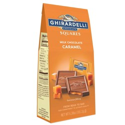 Ghirardelli Milk Chocolate & Caramel Squares - 6.38oz