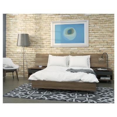 4pc Queen Alibi Bedroom Set - Nexera
