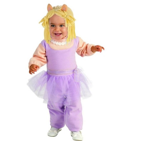 The Muppets Romper Miss Piggy Baby Costume - image 1 of 1