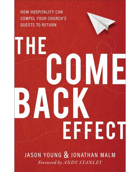 Come Back Effect : How Hospitality Can Compel Your Church's Guests to Return -  (Paperback) - image 1 of 1