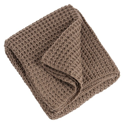 Knitted Design Throw - image 1 of 1