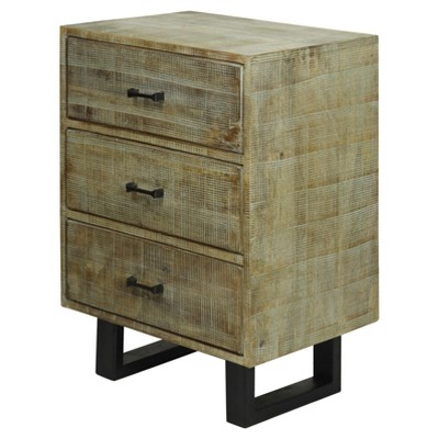 Genial Solid Mango Wood 2 Door Storage Cabinet With Scored Finish And Metal  Hardware On Metal Legs   Gray Wash   Stylecraft