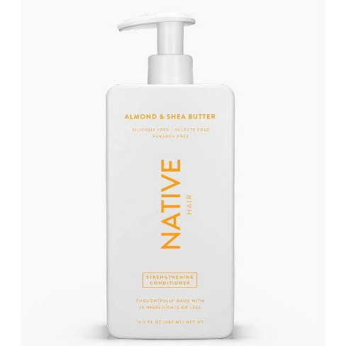Native Almond & Shea Butter Strengthening Conditioner - 16.5 fl oz - image 1 of 4