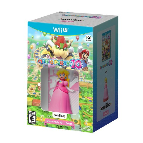 Mario Party 10 + Peach amiibo Nintendo Wii U - image 1 of 1
