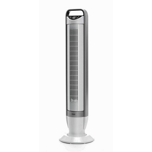"""Seville Classics UltraSlimline 40"""" Oscillating Tower Fan With Tilt Feature - White - image 1 of 6"""