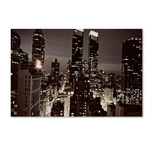 'NYC After Dark' by Ariane Moshayedi Ready to Hang Canvas Wall Art - image 1 of 3