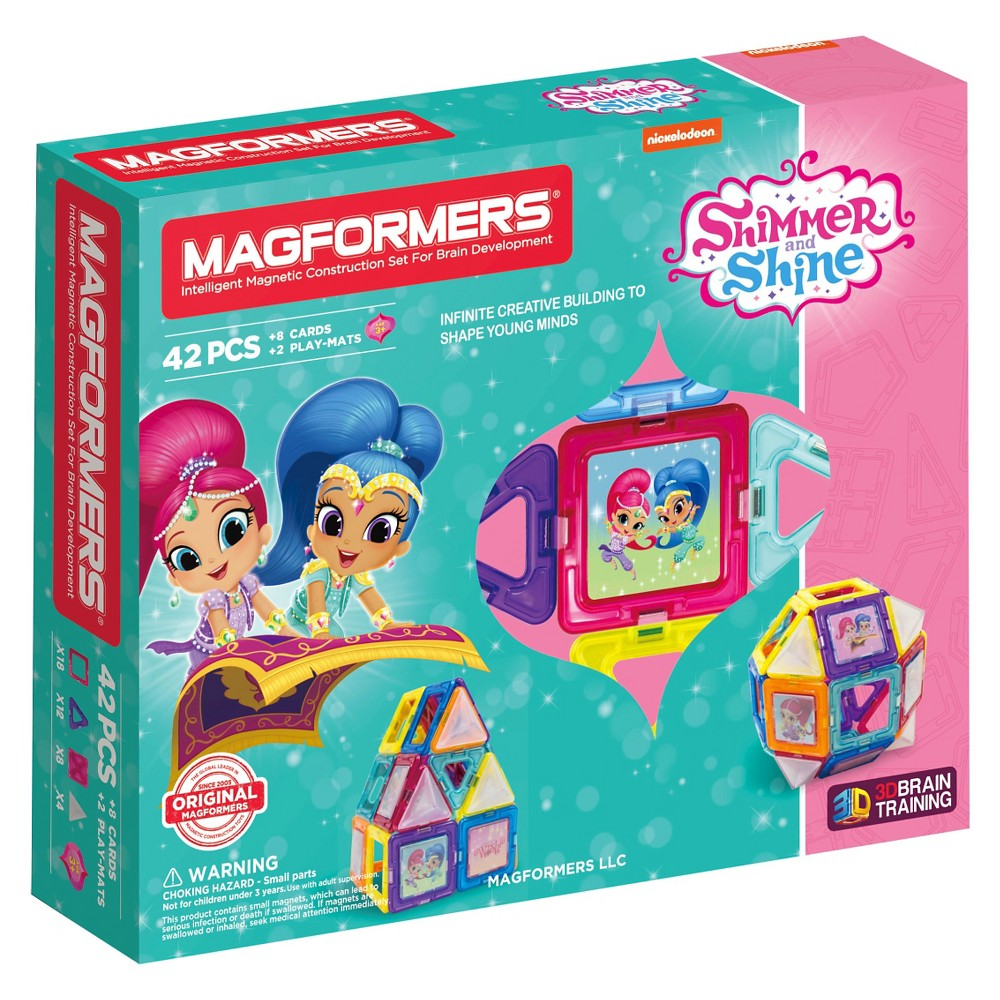 Magformers Shimmer and Shine 42Piece Set