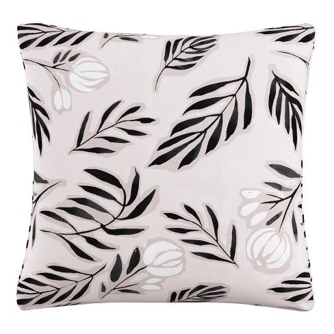 Throw Pillow Skyline Furniture Pale Blush Black White - image 1 of 4