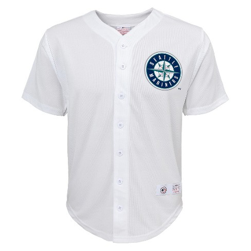 Seattle Mariners Boys' Robinson Cano Jersey White XS - image 1 of 2