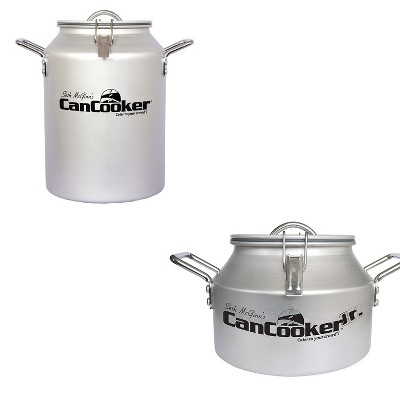 CanCooker CC-001-CN4 Gallon Convection Steam Cooker for 20 People Bundle with JR Companion Outdoor or In Home Stove Convection 2 Gallon Steam Cooker
