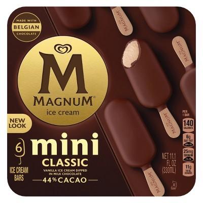 Magnum Mini Ice Cream Bars Classic - 6ct