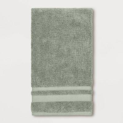 Performance Bath Towel Dark Sage Green - Threshold™