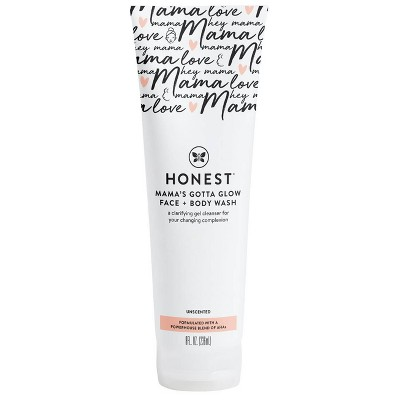 The Honest Company Honest Mama Face and Body Wash - 8 fl oz