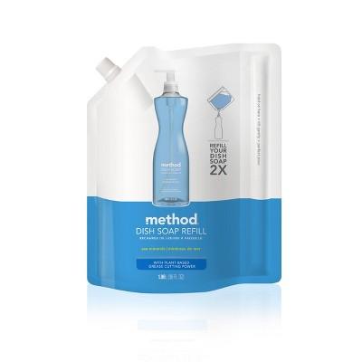 Method Sea Minerals Scent Liquid Dish Soap Refill - 36oz