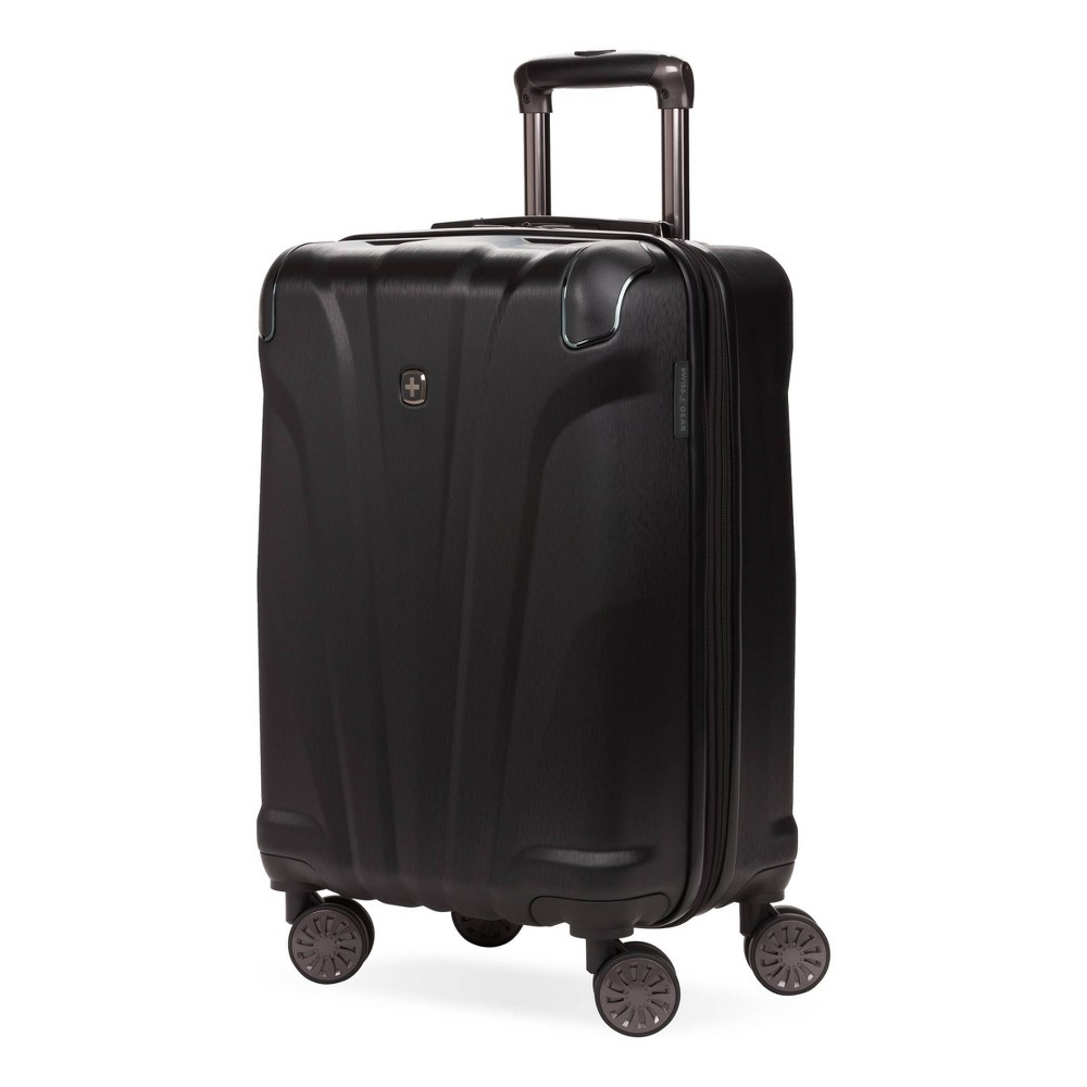 Swissgear 20 34 Cascade Hardside Carry On Suitcase Black