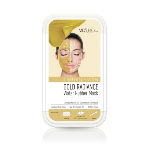 MD's Pick Water Rubber Mask - Gold Radiance - 1ct - image 1 of 2
