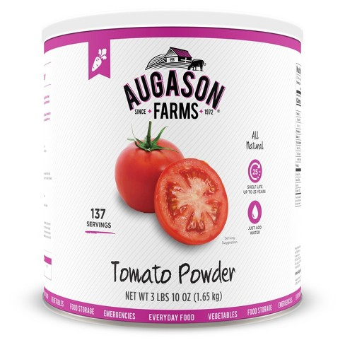 Augason Farms Gluten Free All-Natural Tomato Powder - 58oz - image 1 of 7