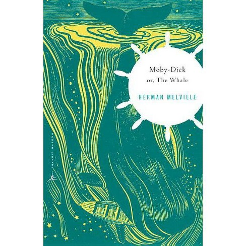 Moby-Dick - (Modern Library Classics (Paperback)) by  Herman Melville (Paperback) - image 1 of 1