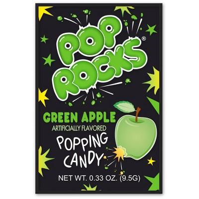 Pop Rocks Halloween Pouch Green Apple - 0.33oz
