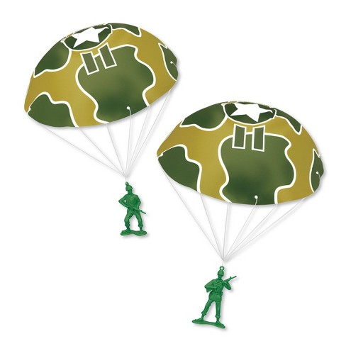 Disney Pixar Toy Story 4 Green Army Men 2pk with Parachutes - image 1 of 2