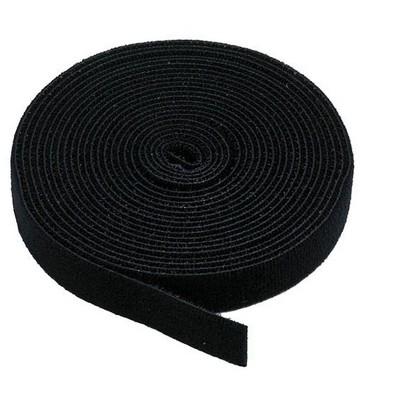 Monoprice Hook & Loop Fastening Tape, 3/4-inch Wide, 5 yards/Roll - Black