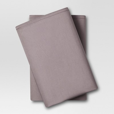 Solid Pillowcases King Pigeon Gray 300 Thread Count - Project 62™