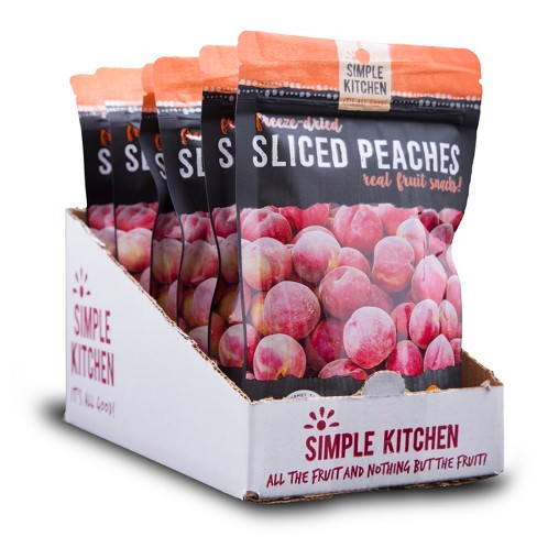 Wise Company Sliced Peaches Freeze Dried 6ct - image 1 of 3