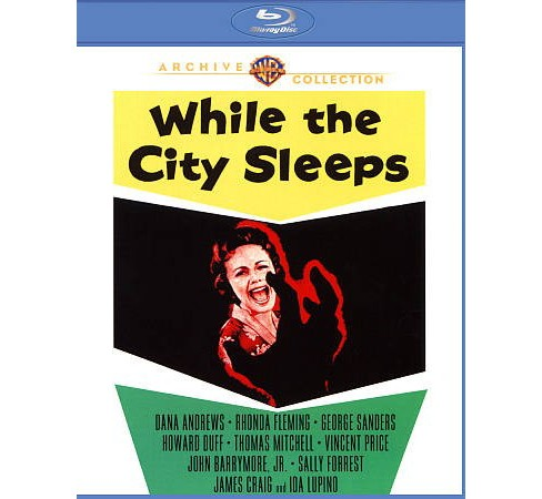 While The City Sleeps (Blu-ray) - image 1 of 1