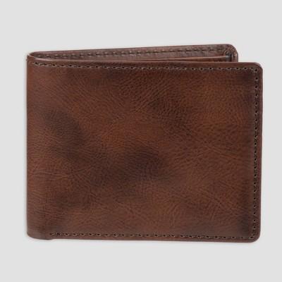 Men's X Capacity Bifold Wallet - Goodfellow & Co™ Brown