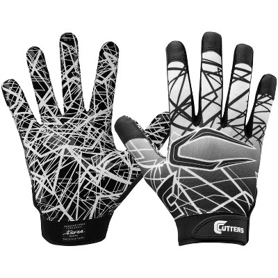 Cutters Game Day Receiver Youth Gloves Black