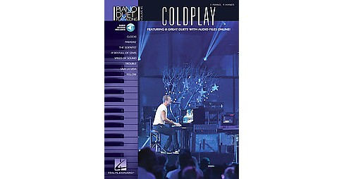 Coldplay : 1 Piano, 4 Hands (Paperback) - image 1 of 1