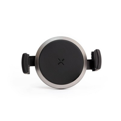 TYLT Round Vent Mount In-Car Wireless Charger - Black