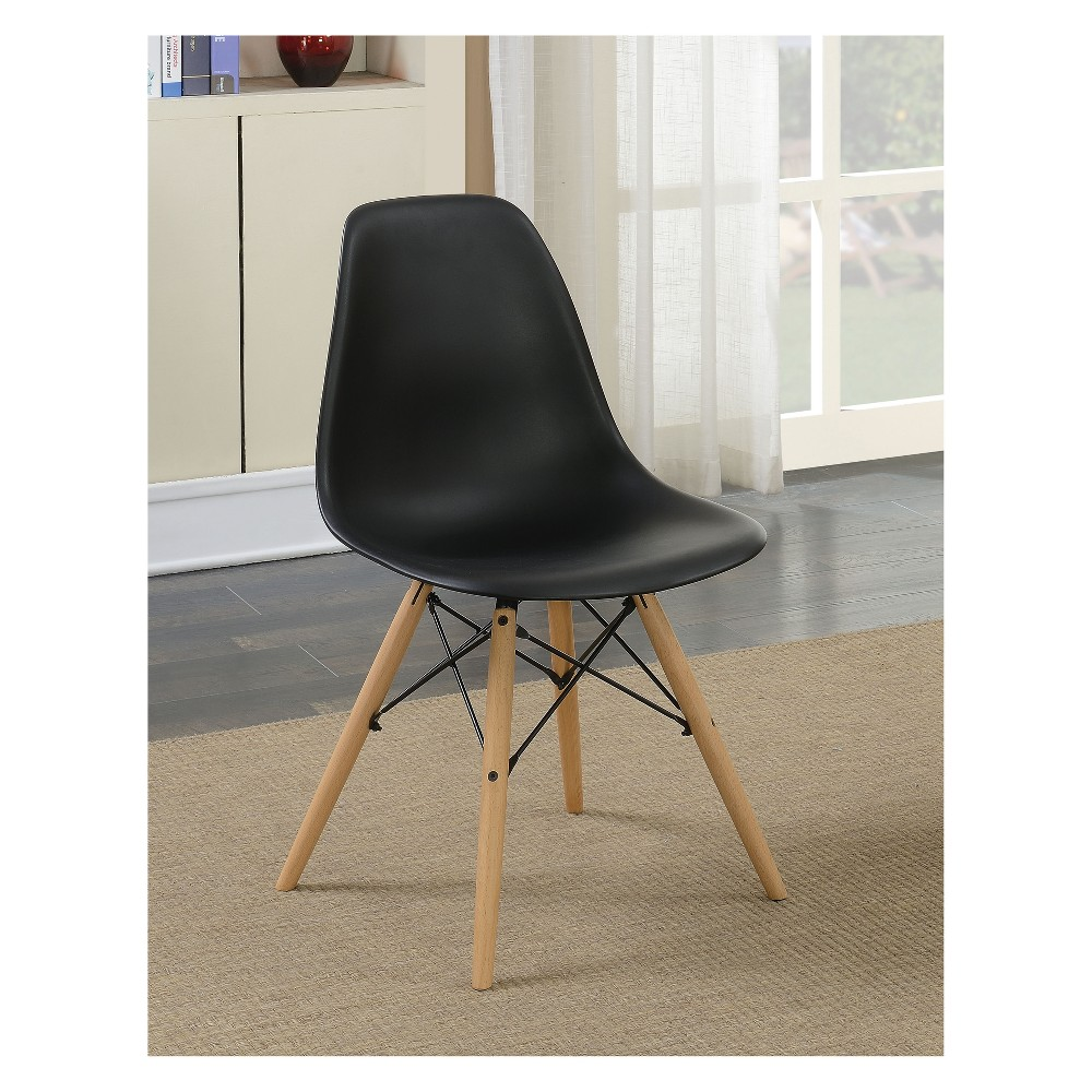 Incredible Hackney Contemporary Accent Chair Black Homes Inside Out Short Links Chair Design For Home Short Linksinfo