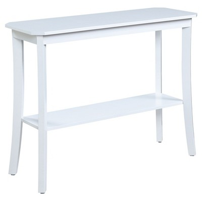 Designs2Go Baja Console Table - White - Convenience Concepts