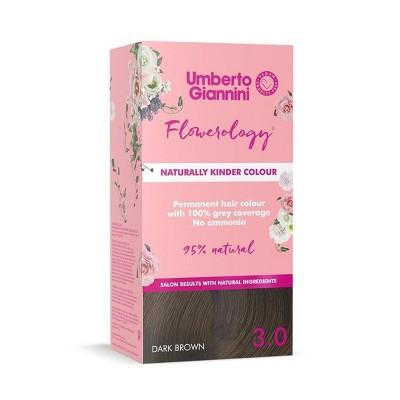 Umberto Giannini Flowerology Vegan Color - Dark Brown - 3.75 fl oz