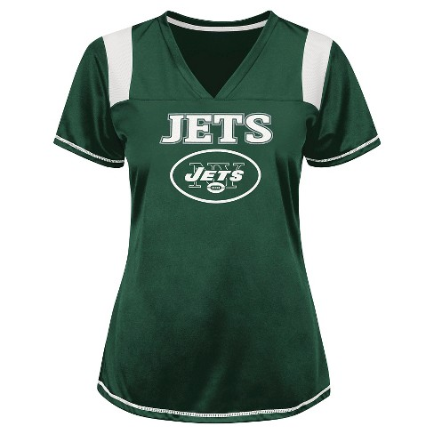 New York Jets Women's Shimmer Top XL - image 1 of 1