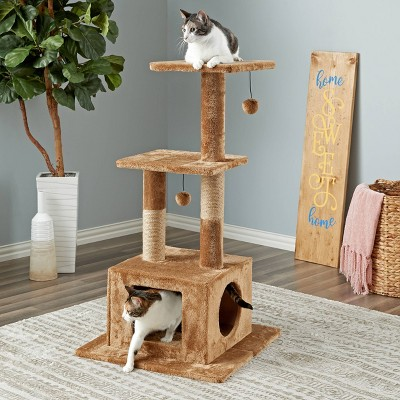Two by Two Willow Cat Tower - Brown