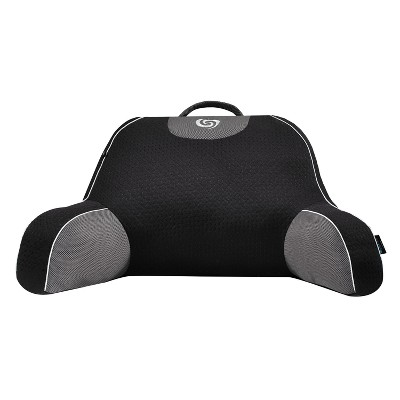 Fusion Performance Support Pillow (Black/Gray)- Bedgear