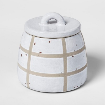 Vase with Lid - White - Threshold™