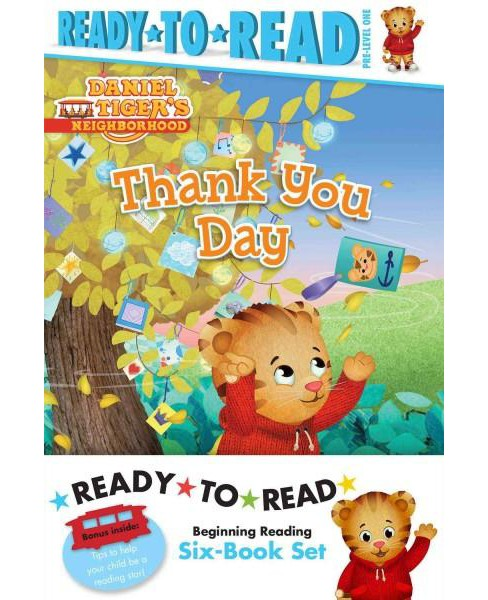 Ready-to-Read Daniel Tiger's Neighborhood : Thank You Day / Friends Help Each Other / Daniel Plays Ball - image 1 of 1