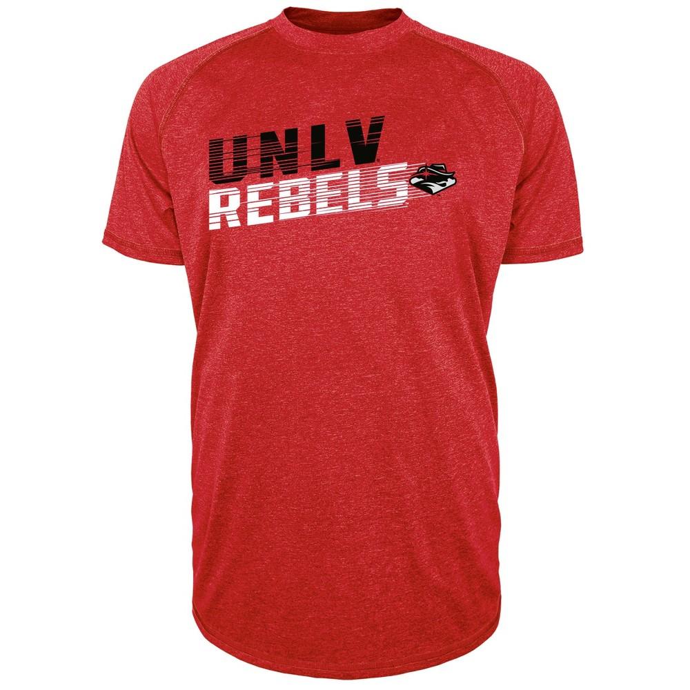 Unlv Rebels Men's Short Sleeve Raglan Performance T-Shirt - Xxl, Multicolored