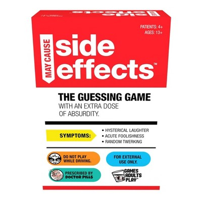 Games Adults Play May Cause Side Effects Card Game